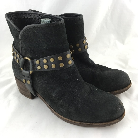 14c43510f89 UGG booties ankle boots Darling Harness black stud
